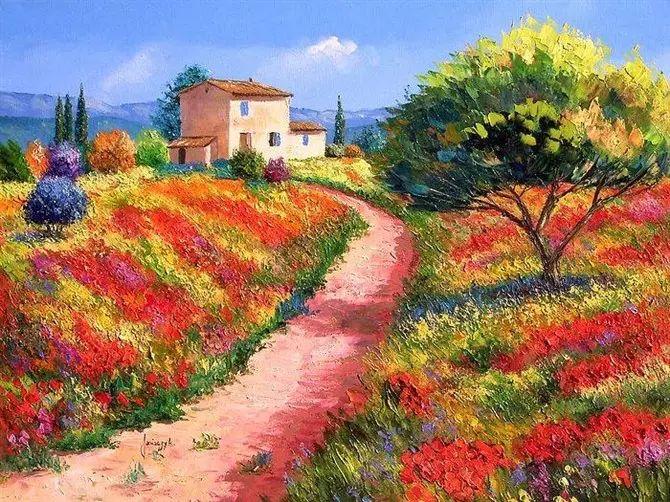普罗旺斯的风景 法国Jean Marc Janiaczyk作品插图43