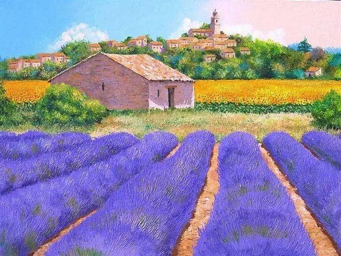 普罗旺斯的风景 法国Jean Marc Janiaczyk作品插图47