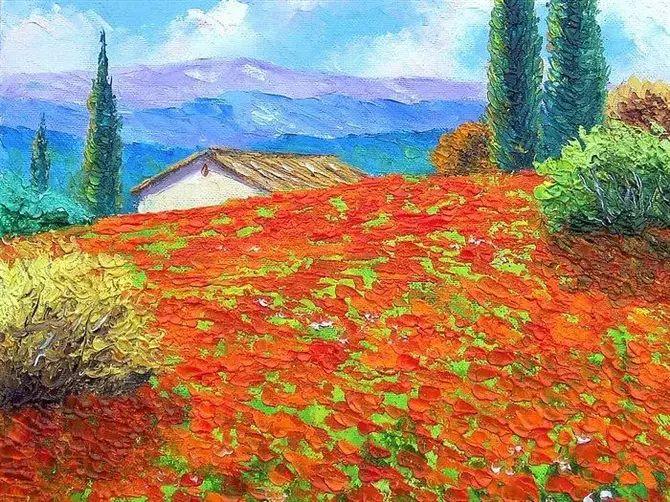 普罗旺斯的风景 法国Jean Marc Janiaczyk作品插图49