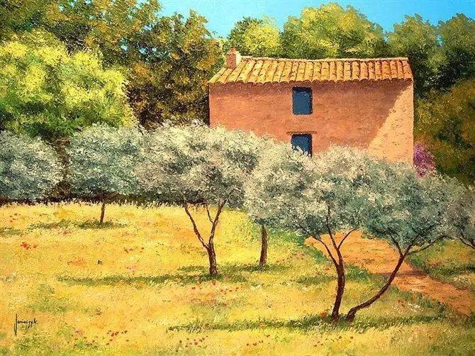 普罗旺斯的风景 法国Jean Marc Janiaczyk作品插图53