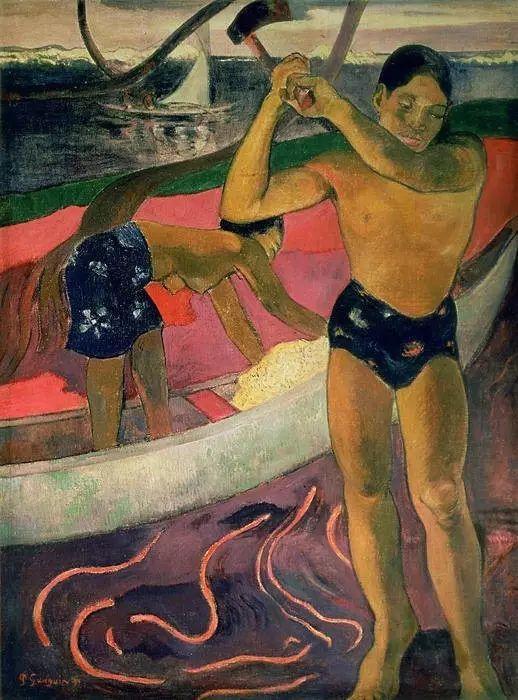 后期印象派三大巨匠之一保罗·高更插图39