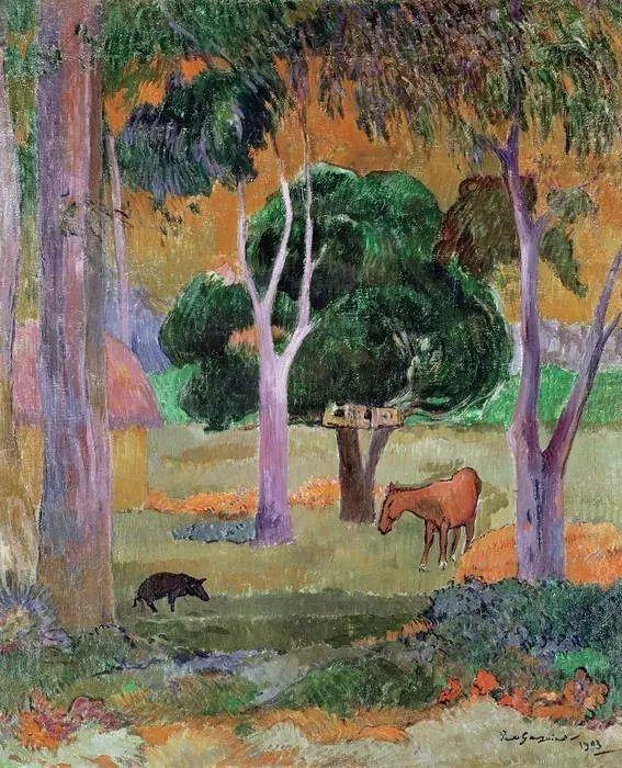 后期印象派三大巨匠之一保罗·高更插图69