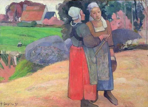 后期印象派三大巨匠之一保罗·高更插图81