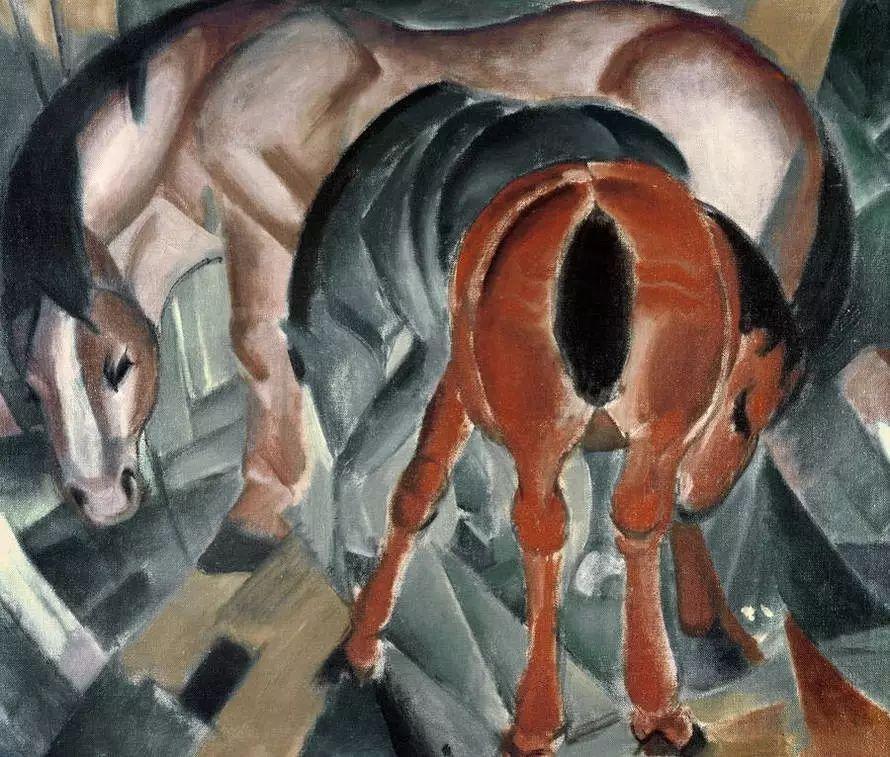 画风原始神秘 弗朗兹·马尔克Franz Marc插图5