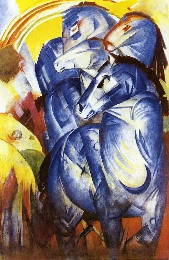画风原始神秘 弗朗兹·马尔克Franz Marc插图39