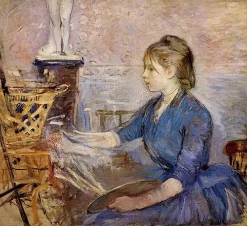 法国印象派最出色女画家Berthe Morisot插图5