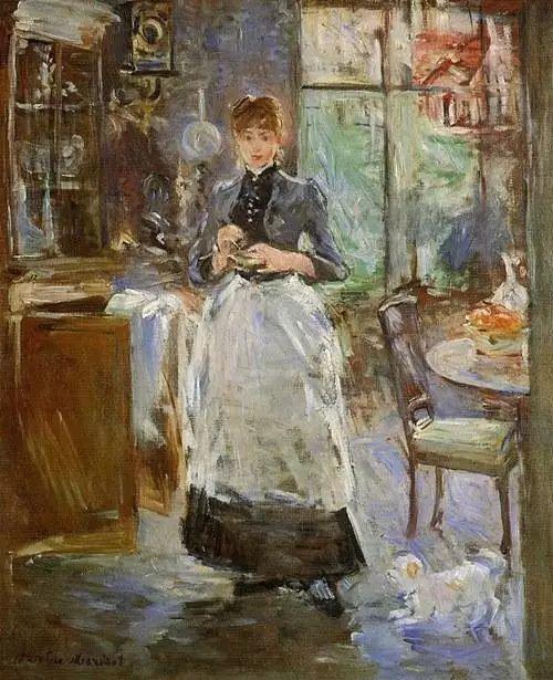 法国印象派最出色女画家Berthe Morisot插图9