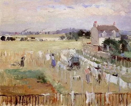 法国印象派最出色女画家Berthe Morisot插图11