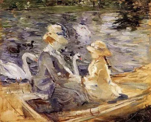 法国印象派最出色女画家Berthe Morisot插图13