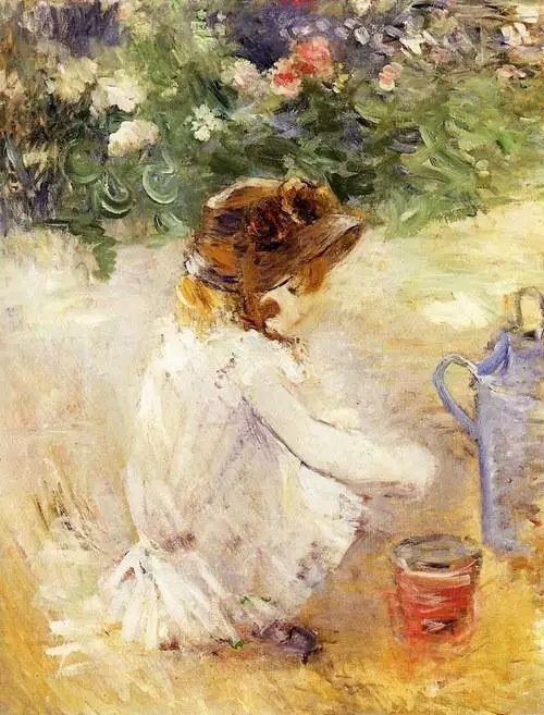 法国印象派最出色女画家Berthe Morisot插图15