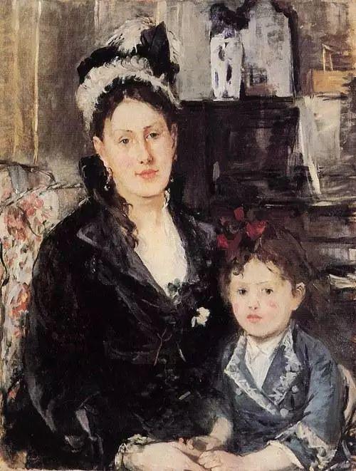 法国印象派最出色女画家Berthe Morisot插图17