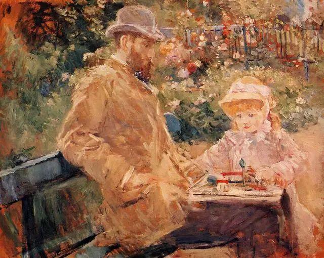 法国印象派最出色女画家Berthe Morisot插图19