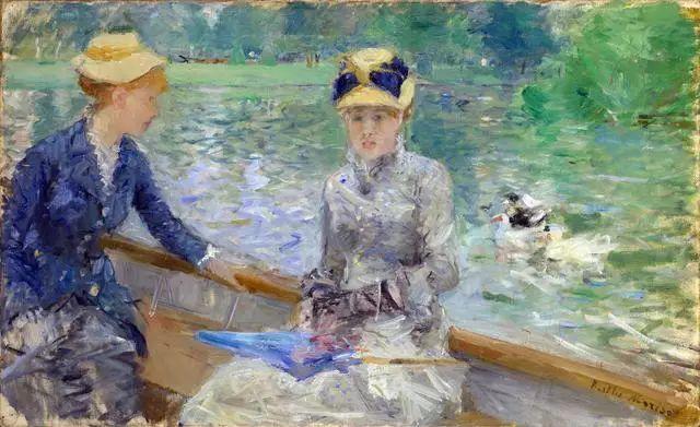法国印象派最出色女画家Berthe Morisot插图21