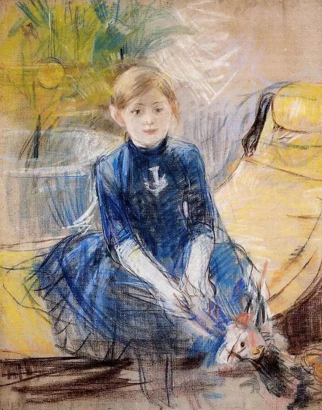法国印象派最出色女画家Berthe Morisot插图23