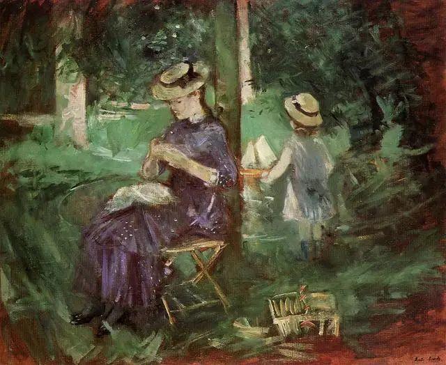 法国印象派最出色女画家Berthe Morisot插图25