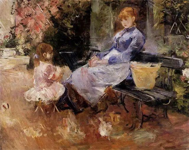 法国印象派最出色女画家Berthe Morisot插图27