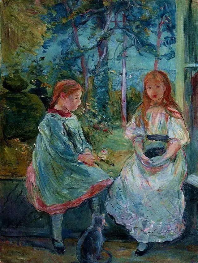 法国印象派最出色女画家Berthe Morisot插图29