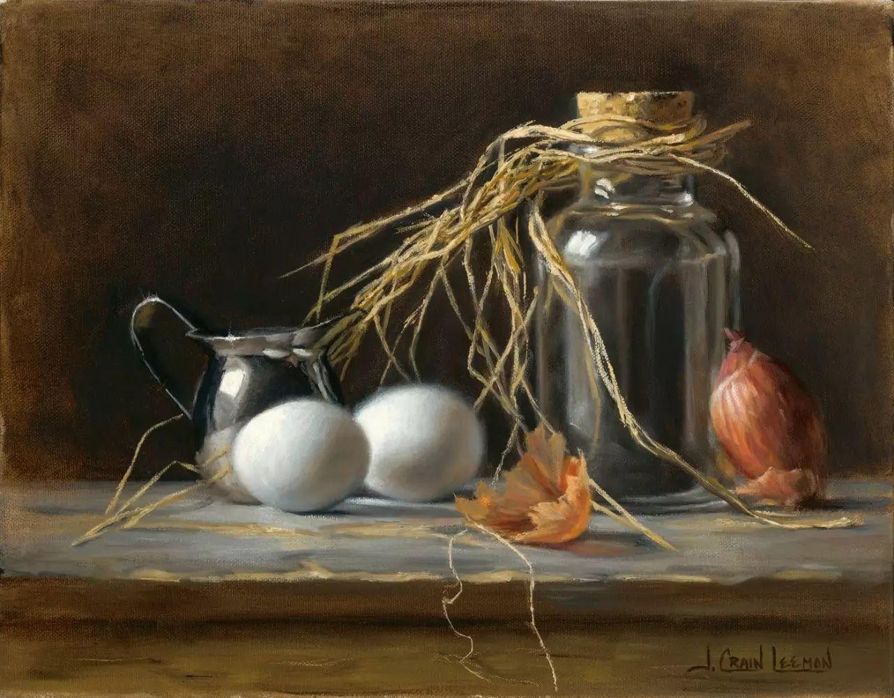 美国女画家Jeanne Leemon静物画欣赏插图11