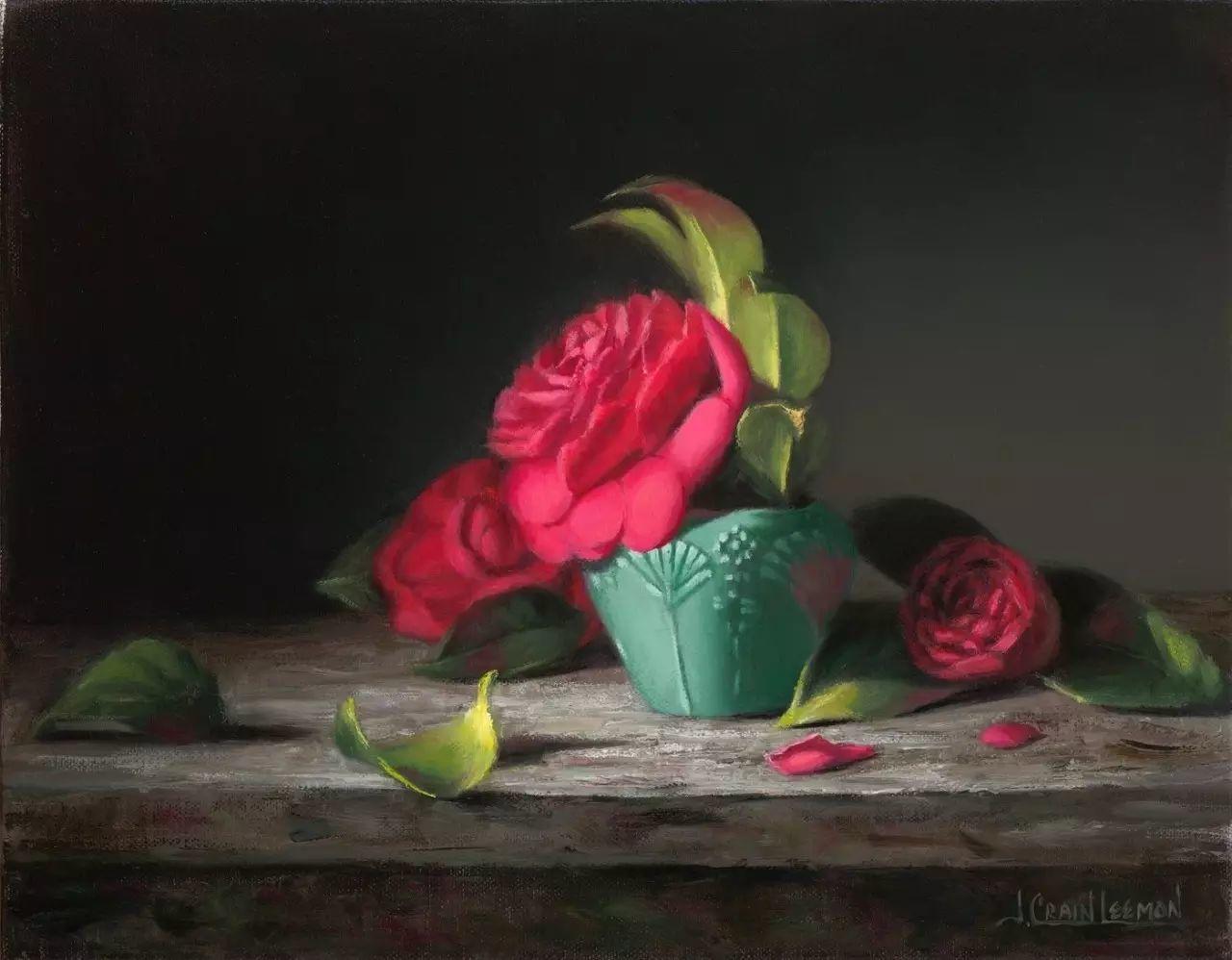 美国女画家Jeanne Leemon静物画欣赏插图13