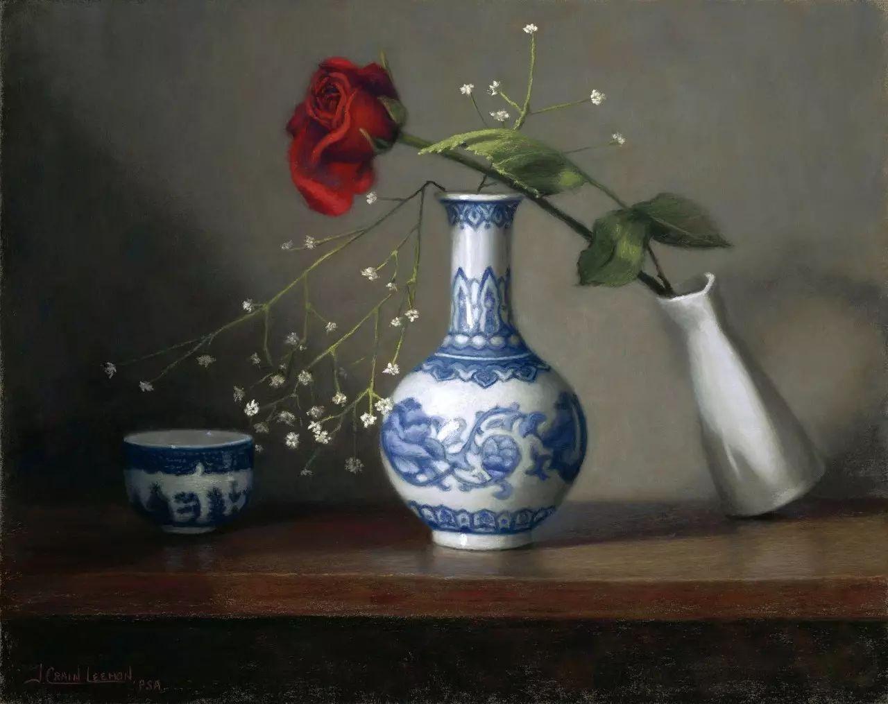 美国女画家Jeanne Leemon静物画欣赏插图21