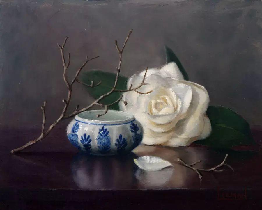 美国女画家Jeanne Leemon静物画欣赏插图29