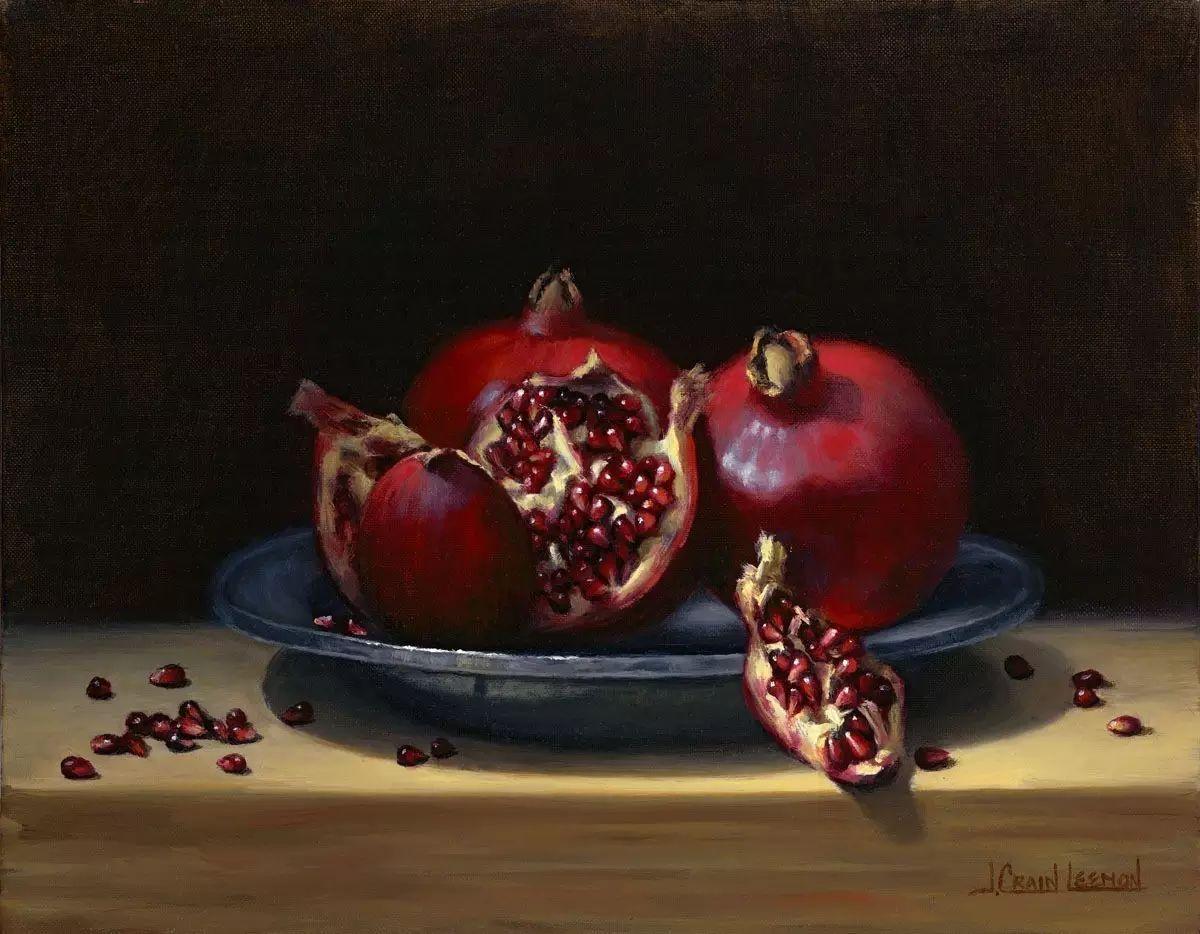 美国女画家Jeanne Leemon静物画欣赏插图39