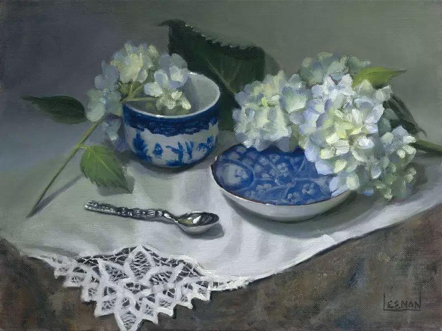 美国女画家Jeanne Leemon静物画欣赏插图43