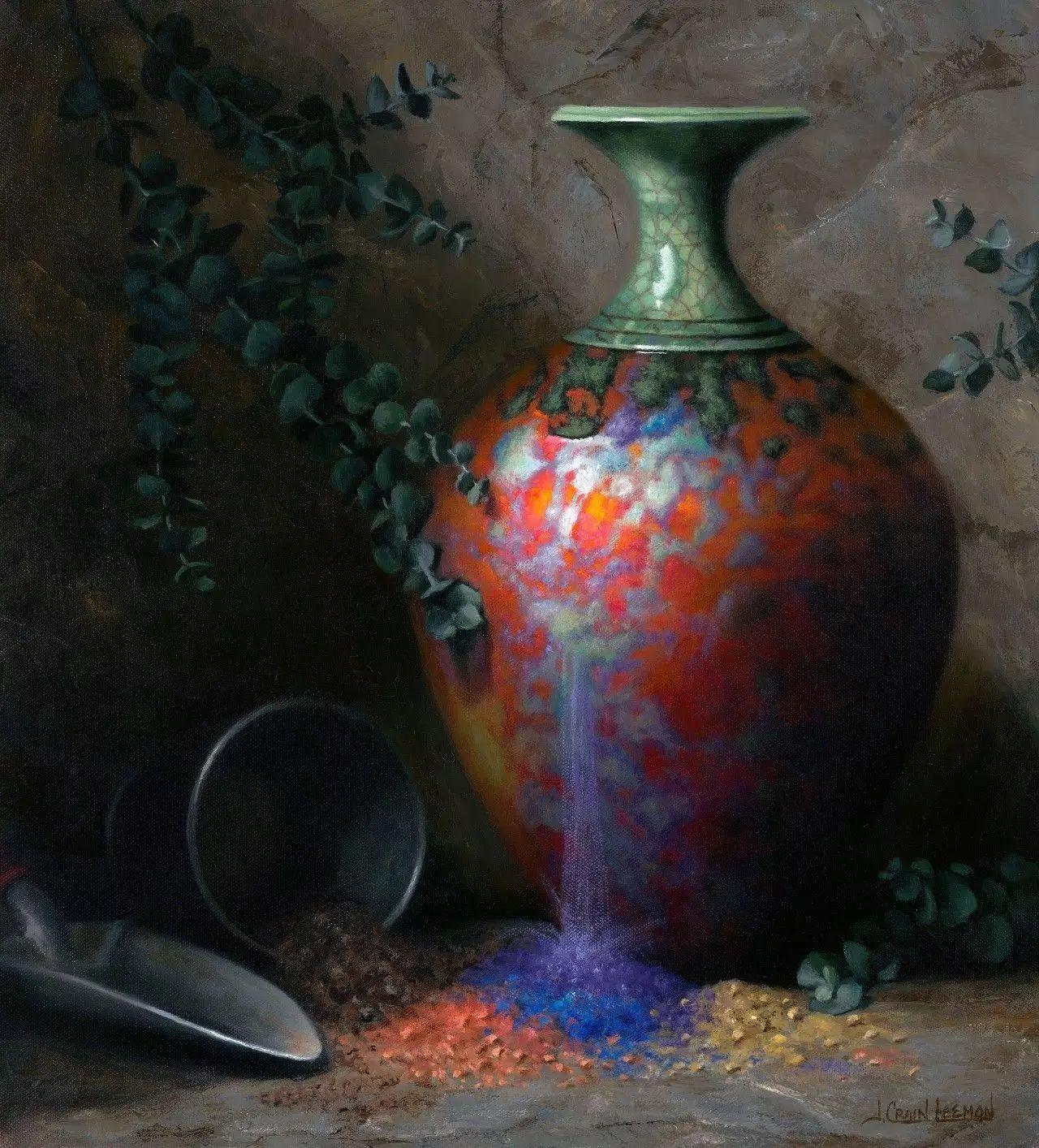 美国女画家Jeanne Leemon静物画欣赏插图53