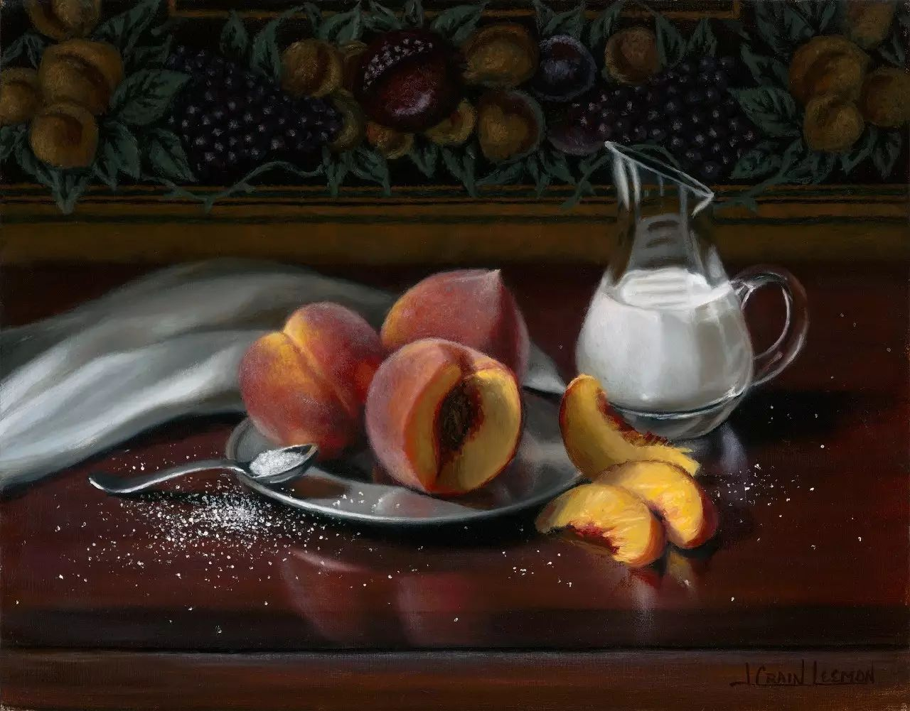 美国女画家Jeanne Leemon静物画欣赏插图59