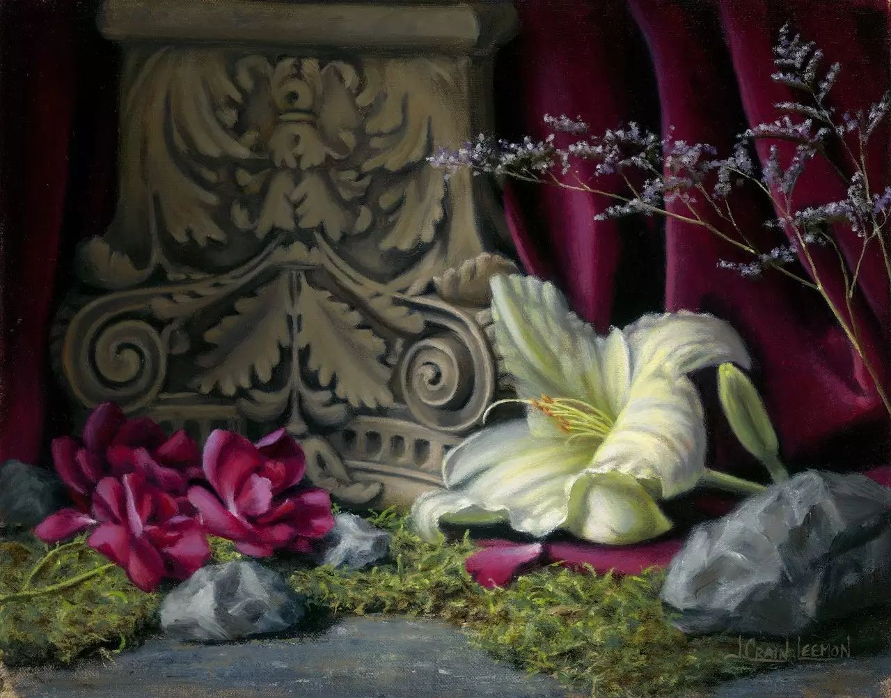 美国女画家Jeanne Leemon静物画欣赏插图63