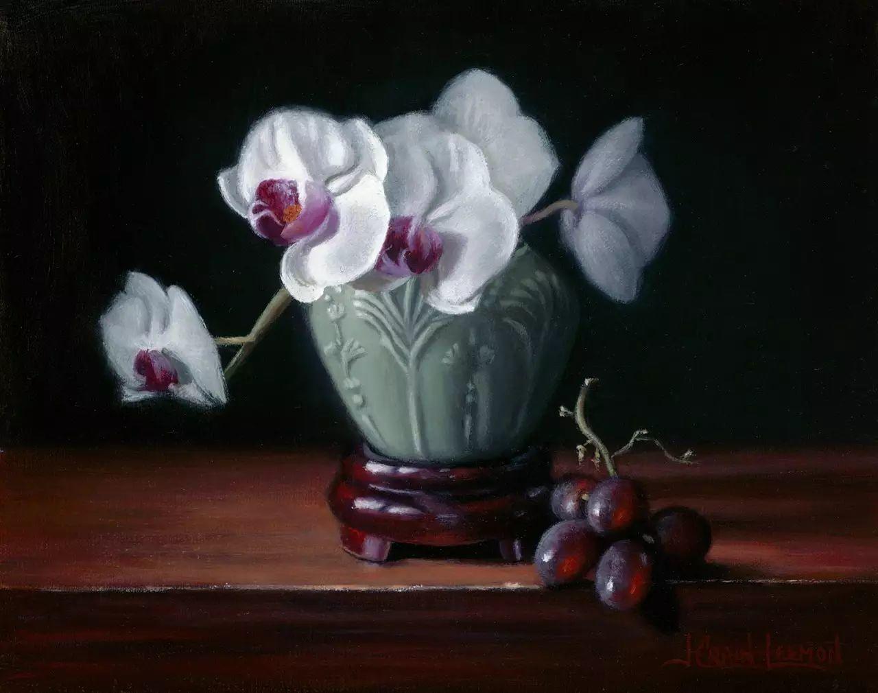 美国女画家Jeanne Leemon静物画欣赏插图65