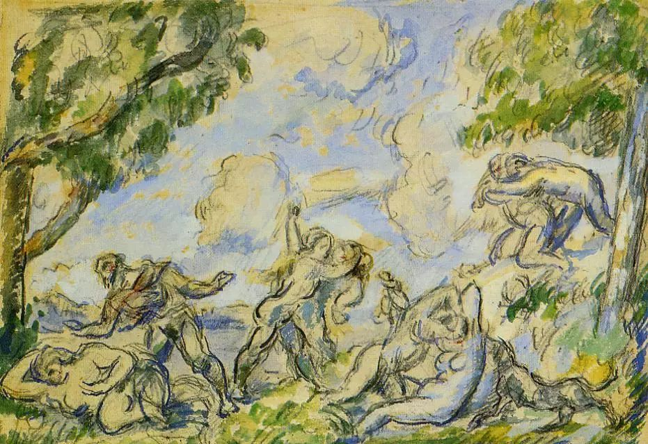法国著名画家保罗·塞尚油画作品插图3