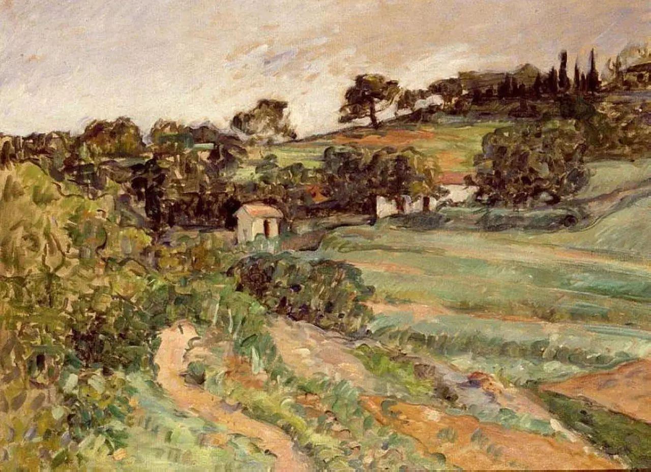 法国著名画家保罗·塞尚油画作品插图37