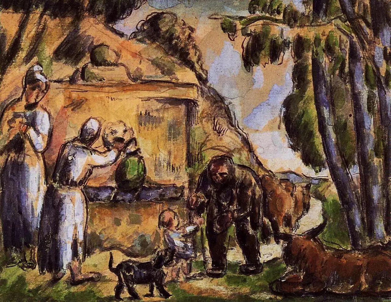 法国著名画家保罗·塞尚油画作品插图43