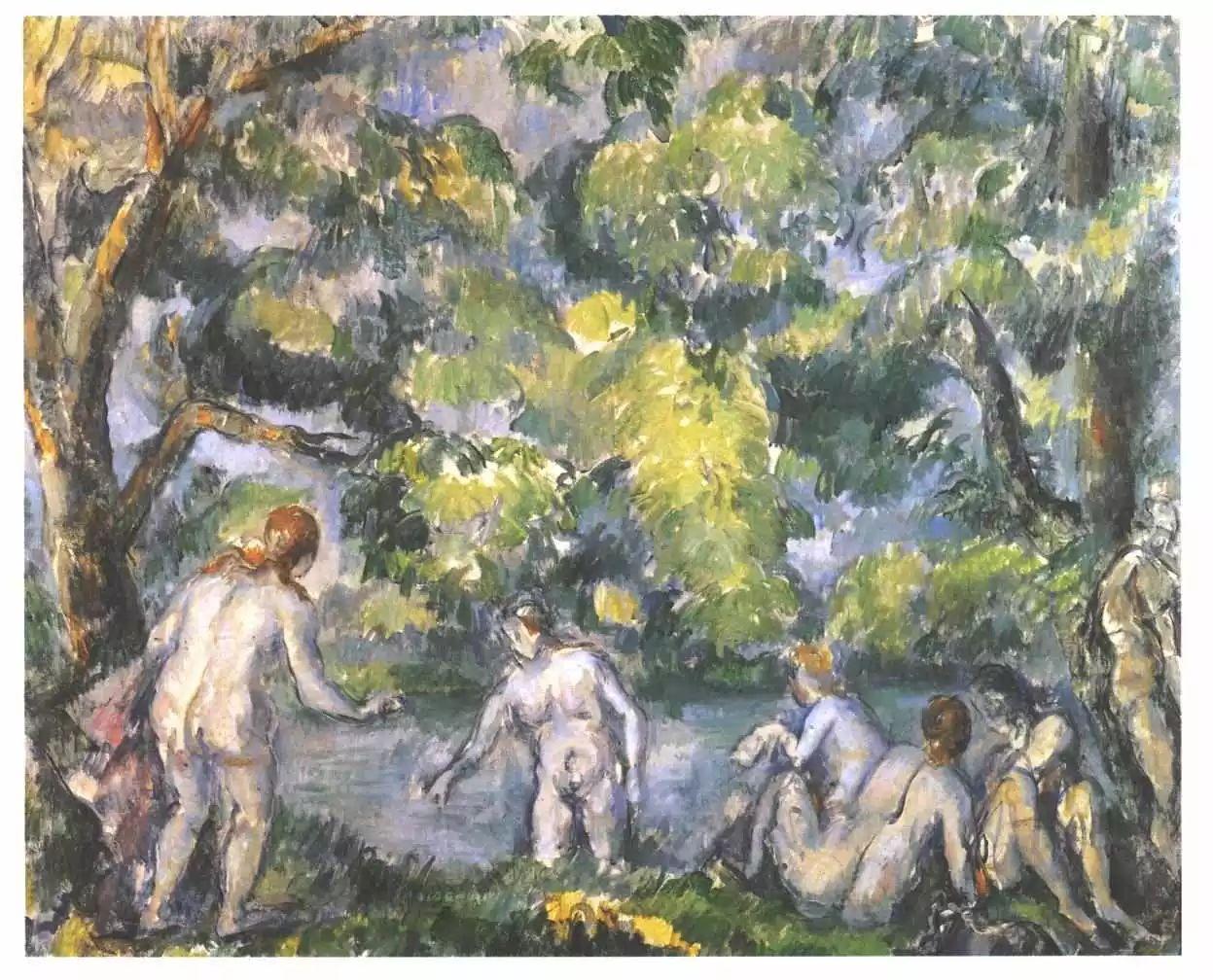 法国著名画家保罗·塞尚油画作品插图49