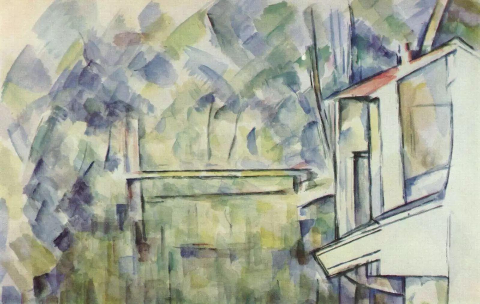 法国著名画家保罗·塞尚油画作品插图59