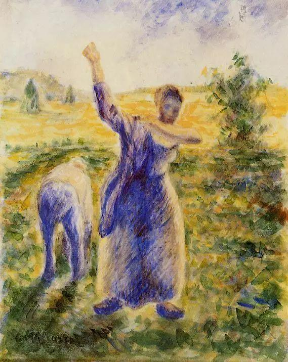 法国印象派画家卡米耶·毕沙罗油画作品插图7