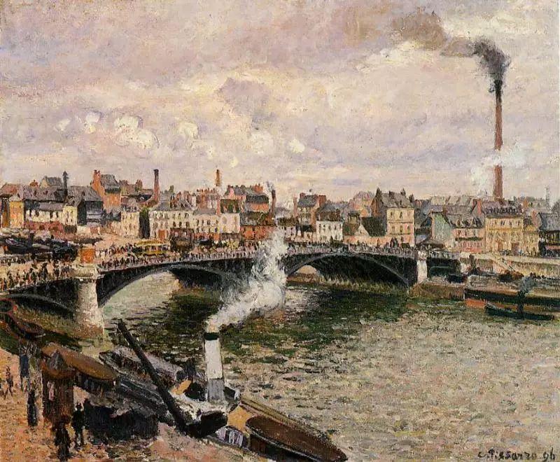 法国印象派画家卡米耶·毕沙罗油画作品插图11