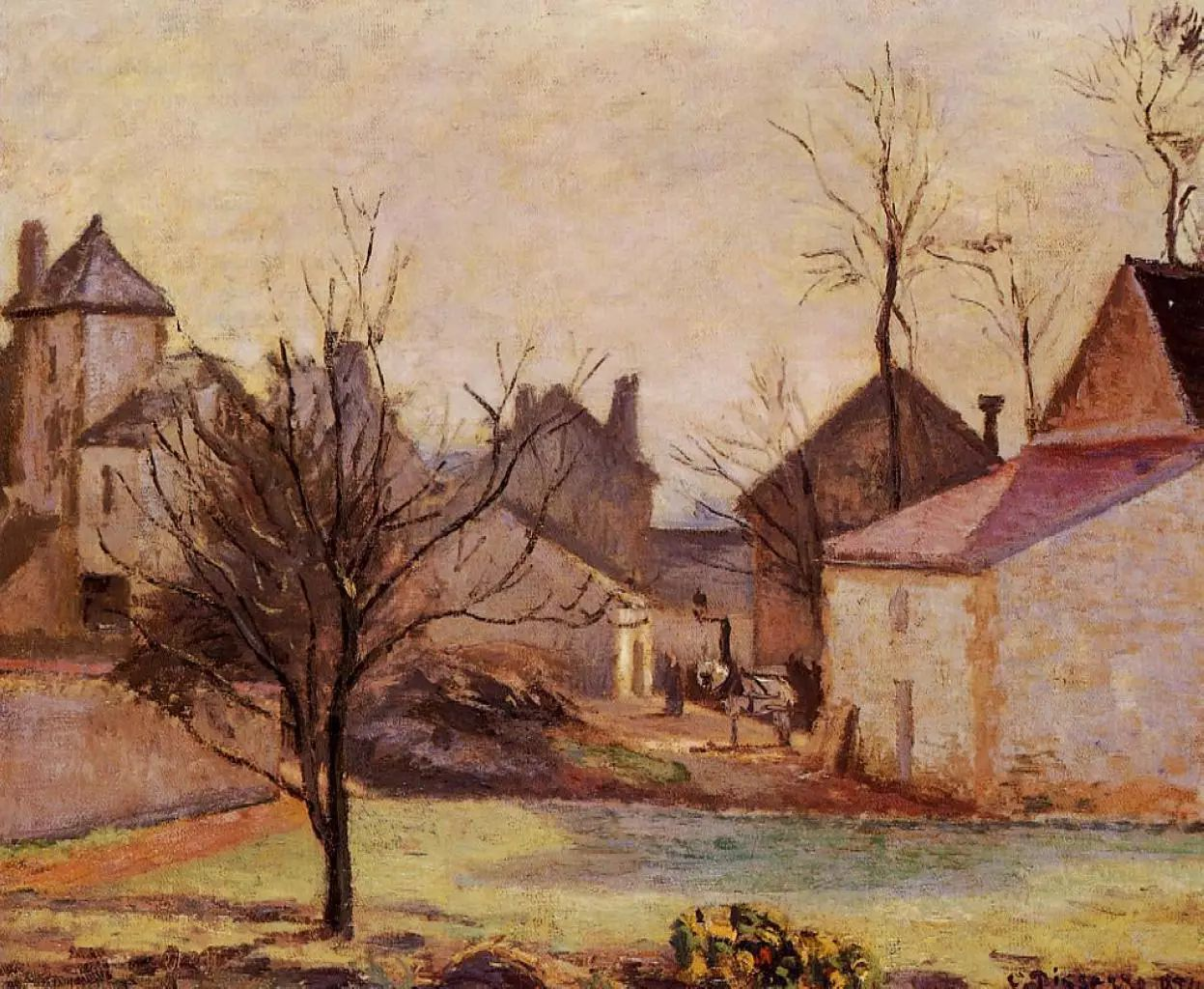 法国印象派画家卡米耶·毕沙罗油画作品插图19
