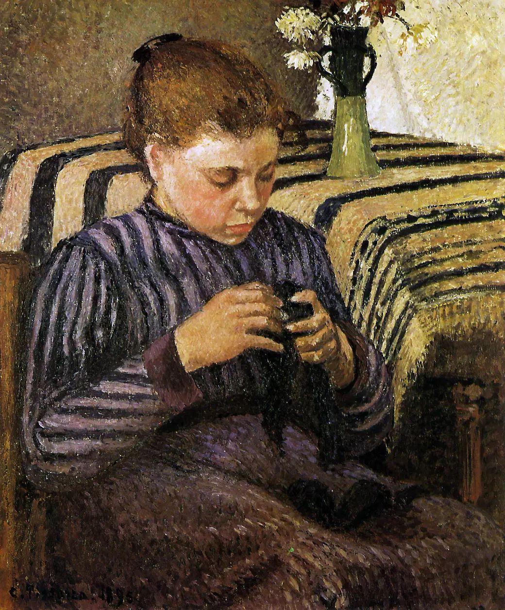 法国印象派画家卡米耶·毕沙罗油画作品插图21