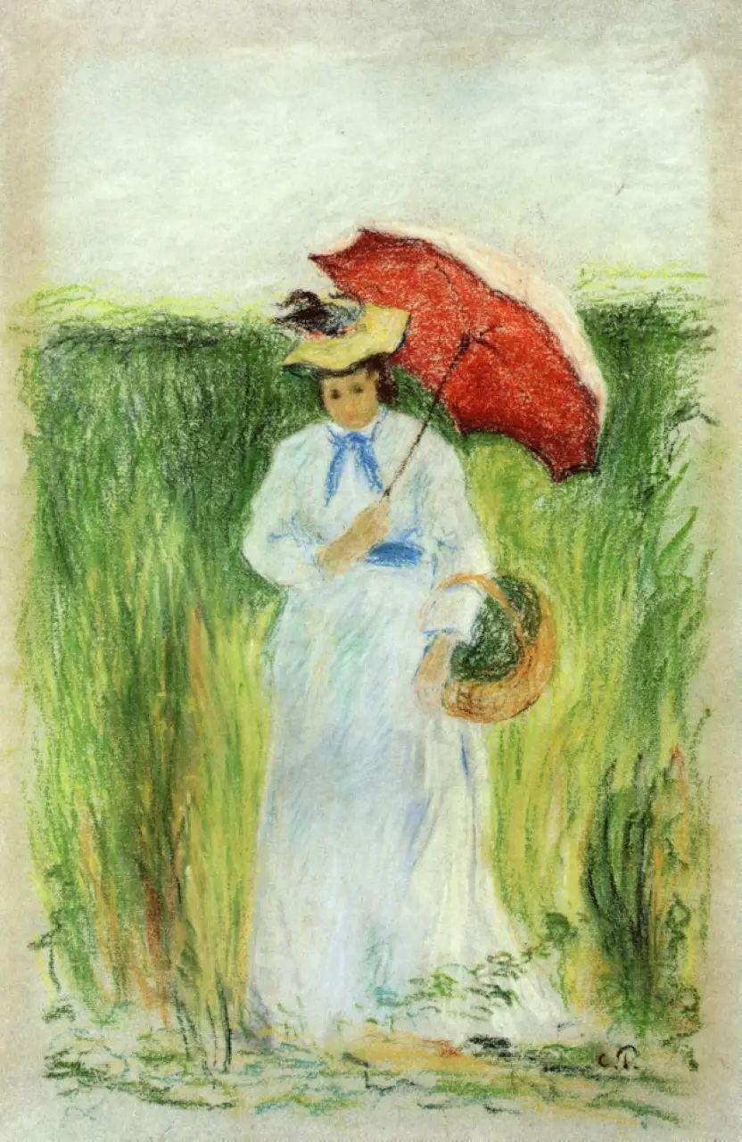 法国印象派画家卡米耶·毕沙罗油画作品插图29