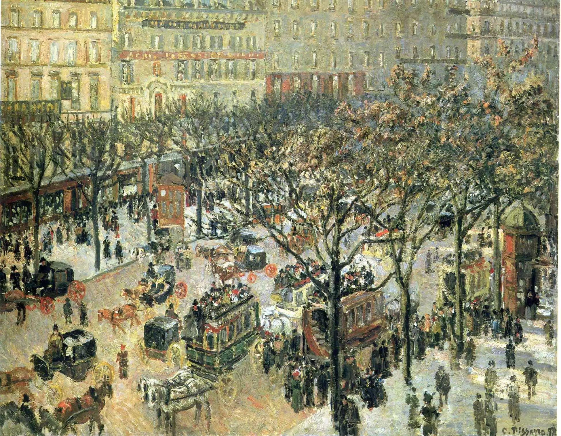 法国印象派画家卡米耶·毕沙罗油画作品插图31