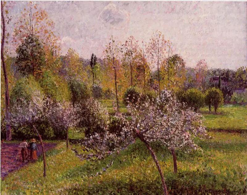 法国印象派画家卡米耶·毕沙罗油画作品插图47