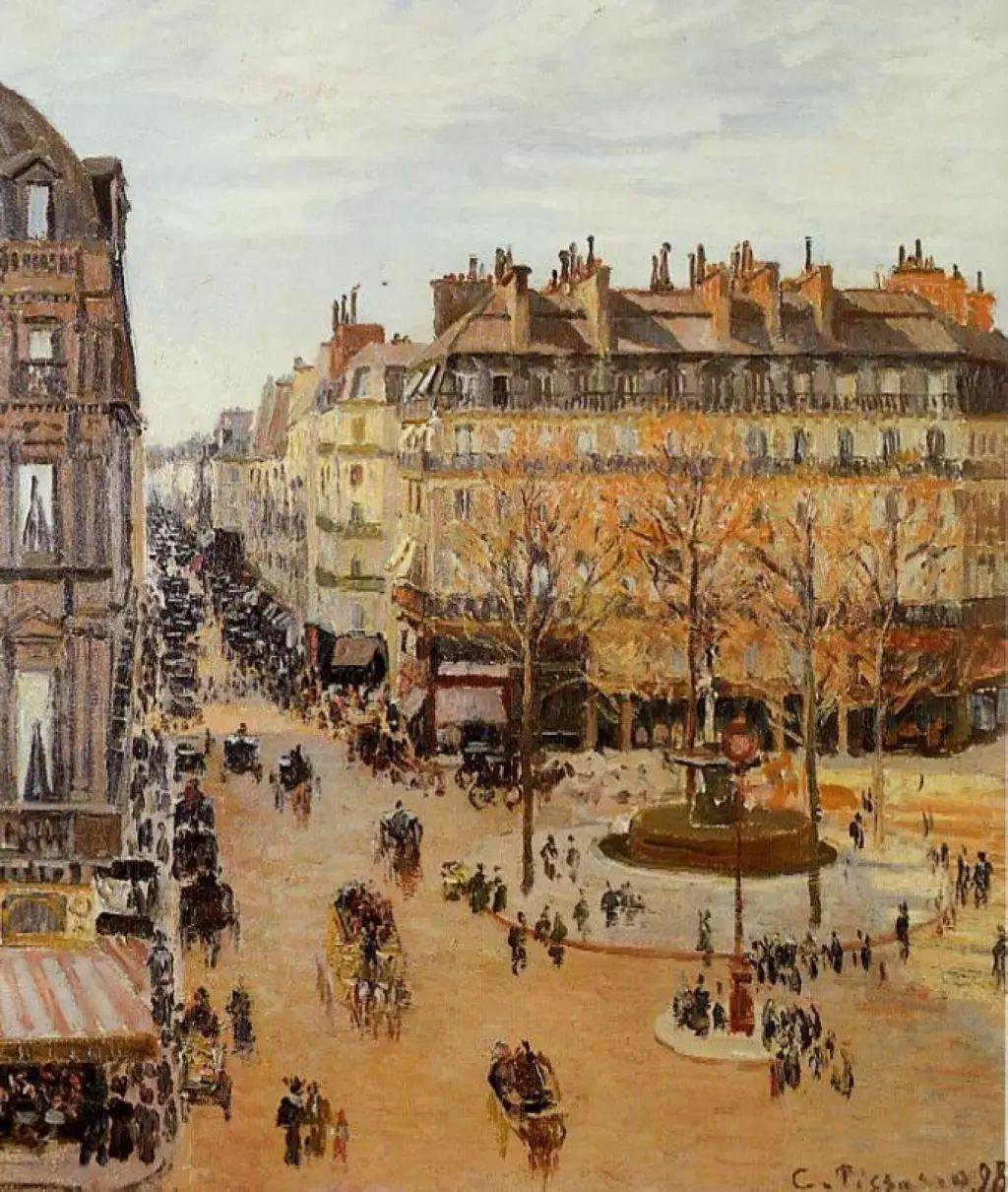 法国印象派画家卡米耶·毕沙罗油画作品插图49