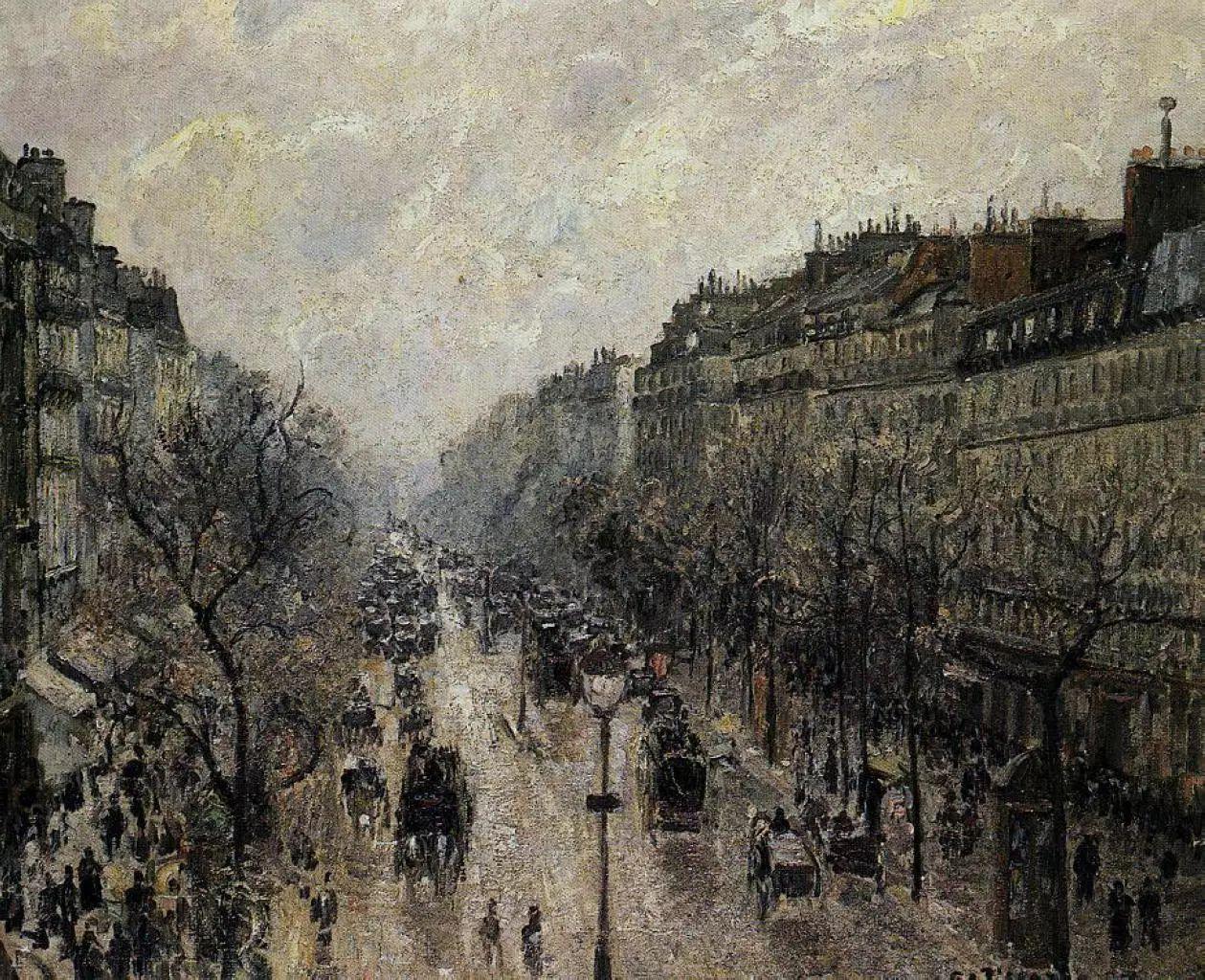 法国印象派画家卡米耶·毕沙罗油画作品插图53