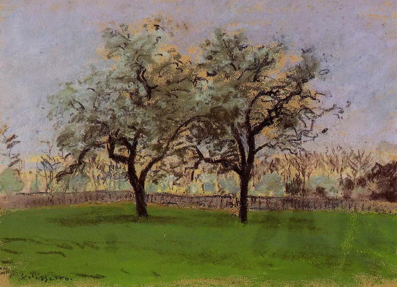 法国印象派画家卡米耶·毕沙罗油画作品插图57