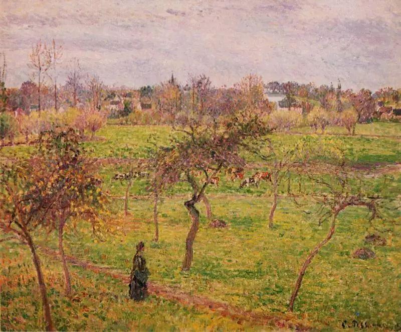法国印象派画家卡米耶·毕沙罗油画作品插图65
