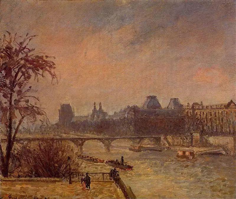 法国印象派画家卡米耶·毕沙罗油画作品插图67
