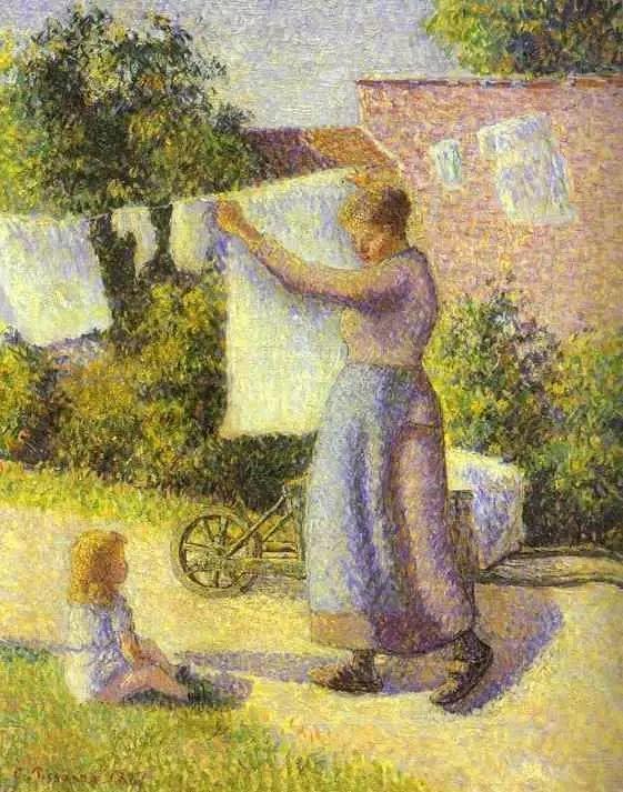法国印象派画家卡米耶·毕沙罗油画作品插图75