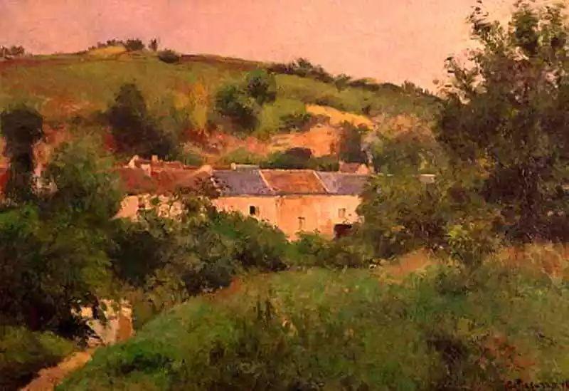 法国印象派画家卡米耶·毕沙罗油画作品插图85